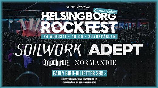 Bild för Helsingborg Rockfest - Summer Edition 2019, 2019-08-24, Sundspärlans Utescen