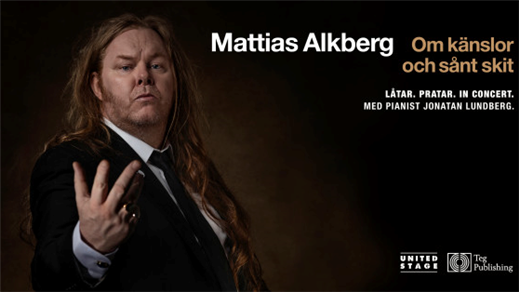 Bild för MATTIAS ALKBERG - Om känslor och sånt skit, 2019-12-14, Biografbaren