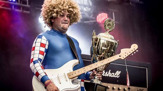 Bild för Luftgitarr-SM 2018 FINAL, 2018-12-29, Slaktkyrkan