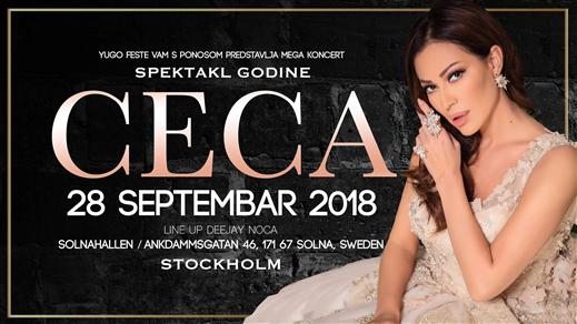 Bild för CECA - Solnahallen Stockholm 2018, 2018-09-28, SolnaHallen