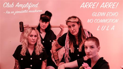 Bild för Club Amplified - För en Jämställd musikscen, 2019-09-13, Hus 7