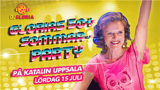 Bild för Glorias 50+ SOMMAR-PARTY på Katalin 15 juli 2017, 2017-07-15, Katalin And All That Jazz