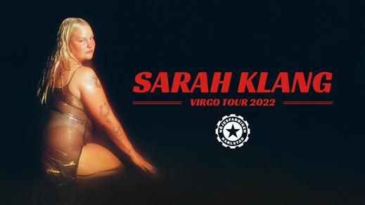 Bild för Sarah Klang, 2022-02-25, Nöjesfabriken