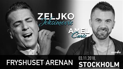 Bild för Zeljko Joksimovic & Amel Curic - STOCKHOLM, 2018-11-03, Fryshuset