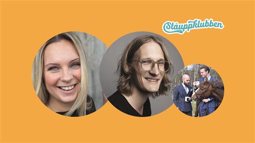 Bild för Ståuppklubben m. Marcus Berggren & Johanna Wagrell, 2018-03-29, Henriksberg