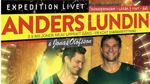 """Bild för Anders Lundin """"Expedition Livet"""", 2019-10-11, Plan B"""