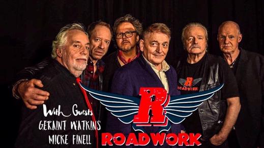 Bild för Roadwork + Geraint Watkins & Micke Finell, 2019-11-04, Folk Å Rock