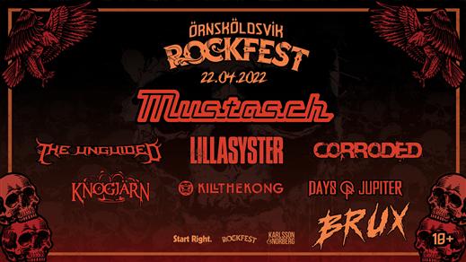 Bild för Örnsköldsvik Rockfest, 2022-04-22, Bruksgården