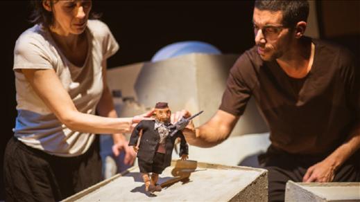"""Bild för Grus Grus Teater & Re:Orient  """"Rabbinens katt"""", 2019-11-28, Inkonst"""
