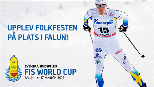 Bild för Publikbiljetter - FIS World Cup, 2019-03-15, LUGNET SKIDSTADION