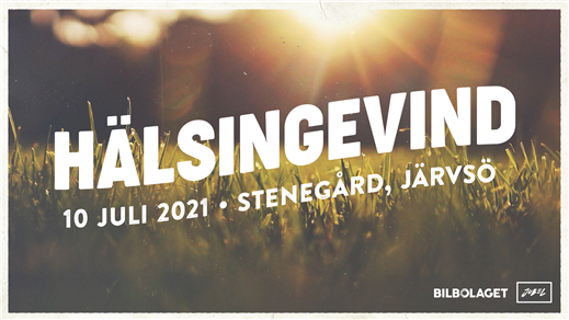 Bild för Hälsingevind I Live @ Stenegård, 2021-07-10, Stenegård, Järvsö