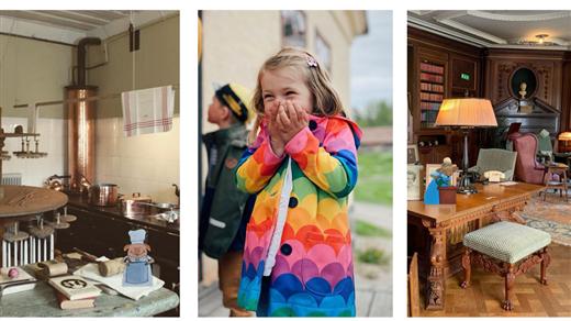 Bild för Familjevisning av herrgården, 2021-07-17, Stiftelsen Leufsta Herrgården