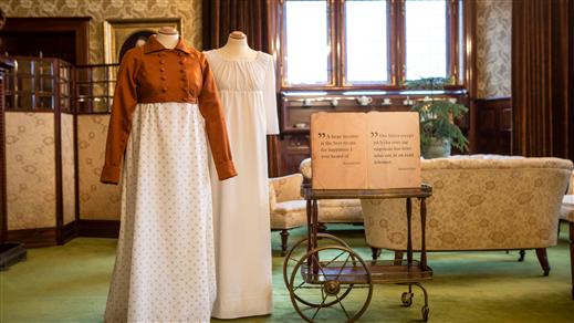 Bild för 18 sept 11.00 Temavisning av Jane Austen, 2016-09-18, Tjolöholms Slott
