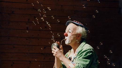 Bild för Barnteater i Årsta - Clownen Manne kl 14, 2019-05-11, Årsta Folkets Hus, bion