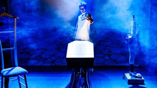 Bild för Kanske Frankenstein 10/11 kl 12:00, 2016-11-10, Caféscenen, Västerbottensteatern