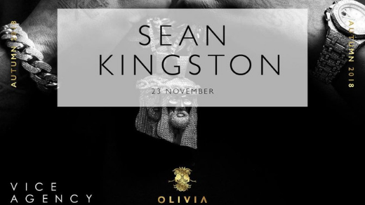 Bild för Sean Kingston Olivia Nattklubb, 2018-11-23, Olivia Nattklubb