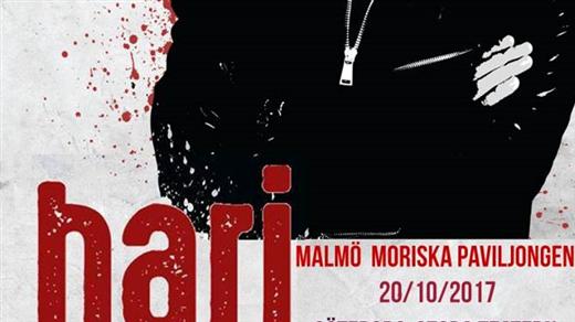 Bild för HARI MATA HARI - live in Malmö/Moriskan 20/10 2017, 2017-10-20, Moriska Paviljongen Malmö