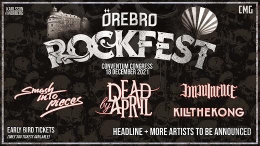 Bild för Örebro Rockfest 2021, 2021-12-18, Conventum Kongress