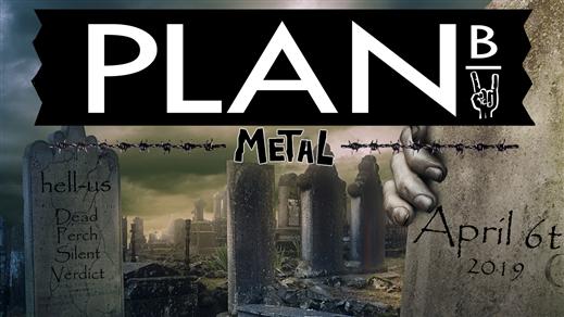 Bild för METALORGIE, 2019-04-06, Plan B