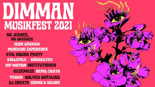 Bild för Dimman Musikfest 2021, 2021-07-24, Kulturkvarteret Portugal