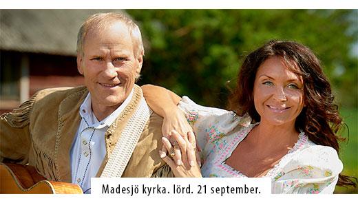 Bild för Lasse Sigfridsson och Christina Lindberg i Madesjö, 2019-09-21, Madesjö Kyrka