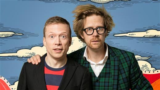 Bild för Så funkar det – The show! Med Anders & Måns, 2021-10-12, Södra Teaterns Stora Scen