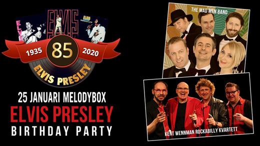 Bild för Elvis Presley 85 ÅR!, 2020-01-25, Melody Box