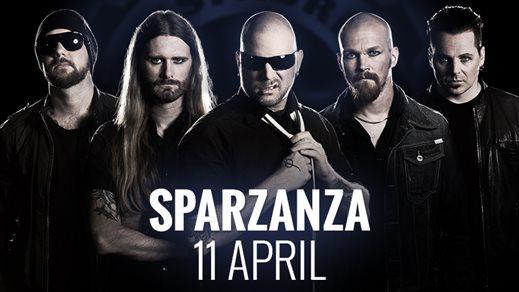 Bild för Sparzanza - LIVE! Releasefest, 2014-04-11, Nöjesfabriken