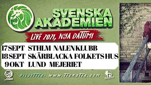 Bild för Svenska Akademien, 2021-09-18, Skärblacka Folkets Hus