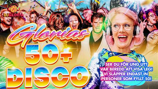 Bild för Glorias 50+ DISCO JOSEFINA 28 aug 2020, 2020-08-28, Josefina