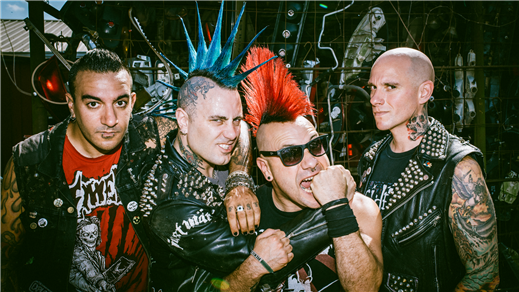 Bild för The Casualties (US) + Support, 2019-02-23, Lokomotivet