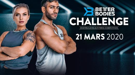 Bild för Better Bodies Challenge 2020, 2020-03-21, Folkets Hus Stockholm City Conference Center