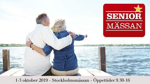 Bild för Seniormässan Stockholm, 2019-10-01, Stockholmsmässan