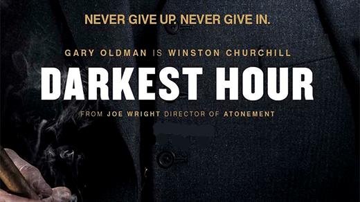 Bild för Darkest Hour (11 år) Dagbio, 2018-02-18, Biosalongen Folkets Hus