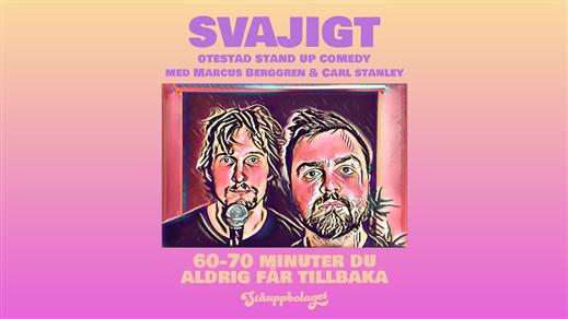 Bild för Svajigt med Berggren och Stanley - Norrtälje, 2021-10-21, Festivitetsvåningen på Gamla Stadtshotellet