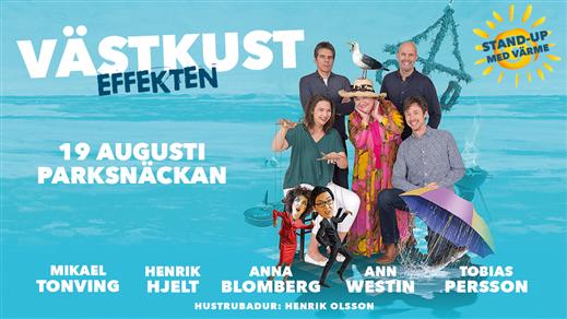 Bild för Västkusteffekten, 2017-08-19, Parksnäckan i Uppsala Stadsträdgård