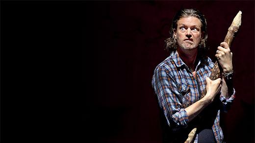 Bild för GROTTMANNEN med Robert Samuelsson, 2018-04-27, Jönköpings Teater