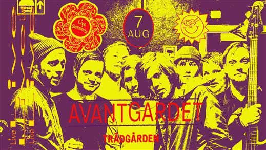 Bild för Live Sessions: Avantgardet, 2019-08-07, Trädgården