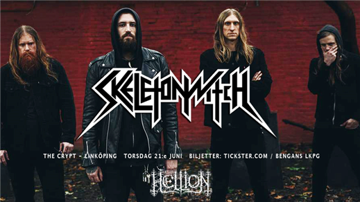 Bild för Klubb Hellion: SKELETONWITCH (us) + support, 2018-06-21, The Crypt