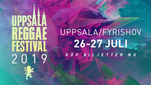 Bild för Uppsala Reggae Festival 2019, 2019-07-26, Fyrishov