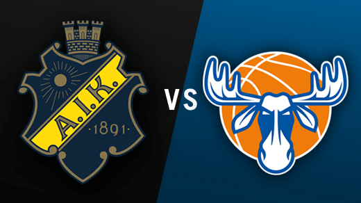 Bild för AIK - Jämtland Basket, 2016-10-09, Solnahallen