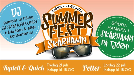 Bild för Summerfest Skärhamn, 2017-07-21, Södra Hamnen Skärhamn