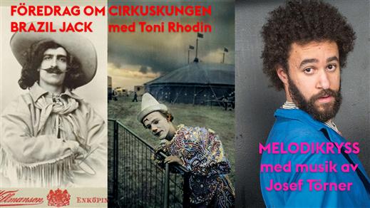Bild för Föredrag om Brazil Jack+Josef Törners melodikryss, 2020-06-28, Caféscenen på Lilla Beddinge Teater