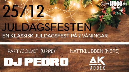 Bild för Juldagen 25/12 - Nattklubb, 2019-12-25, Hugo Finspång