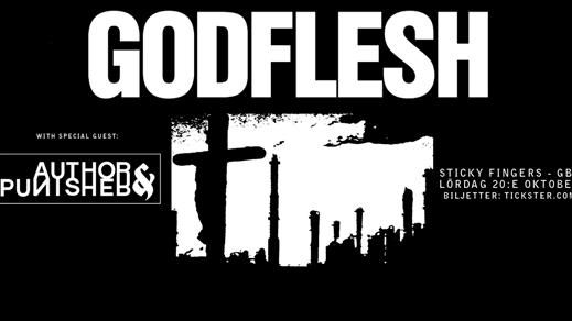 Bild för Godflesh / Author & Punisher, 2018-10-20, Sticky Fingers
