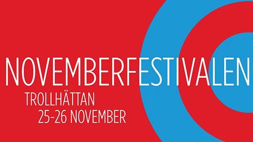 Bild för NOVEMBERFESTIVALEN 25-26/11 2016, 2016-11-25, Hebeteatern (Onumrerad), Folkets Hus Kulturhuset