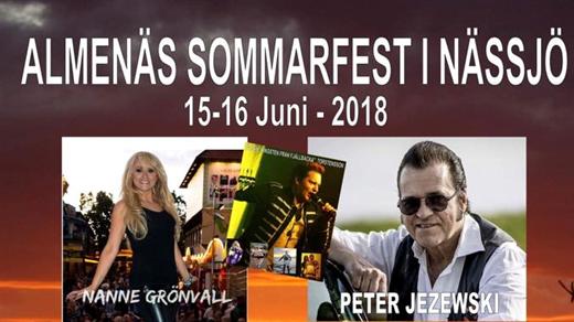 Bild för Almenäs Sommarfest 2018, 2018-06-15, Almenäs Källare