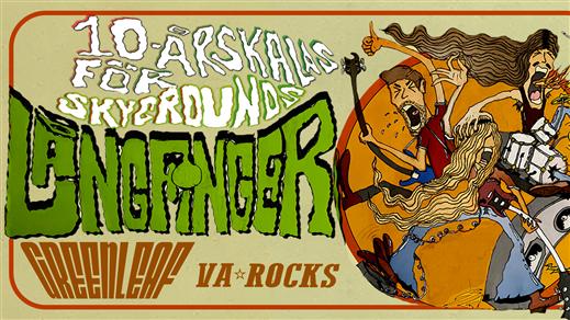 Bild för Långfinger + Greenleaf + VA Rocks, 2020-10-02, Musikens Hus Stora Scen