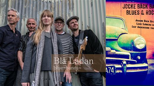 Bild för Jocke Bäck Band & Blå Ladan, 2018-06-01, Mats o Karin musik & möten