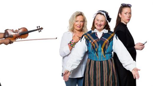 Bild för Släktkalaset 22/9 kl 19:00, 2018-09-22, Salong Stora Scenen, Västerbottensteatern